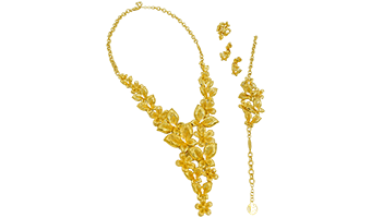 Gold Wedding Jewelry | Custom Jewellery Design | Yasini Jewelers